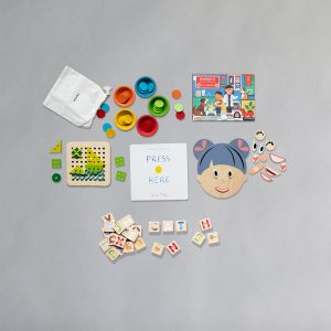 3-4 year Play and Learn set toys