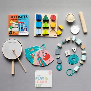 The Tot Play & Learn Set 2- 3 years
