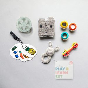 The Tot Play & Learn Set 3-6 months