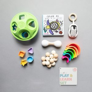 The Tot Play & Learn Set 6-12 months