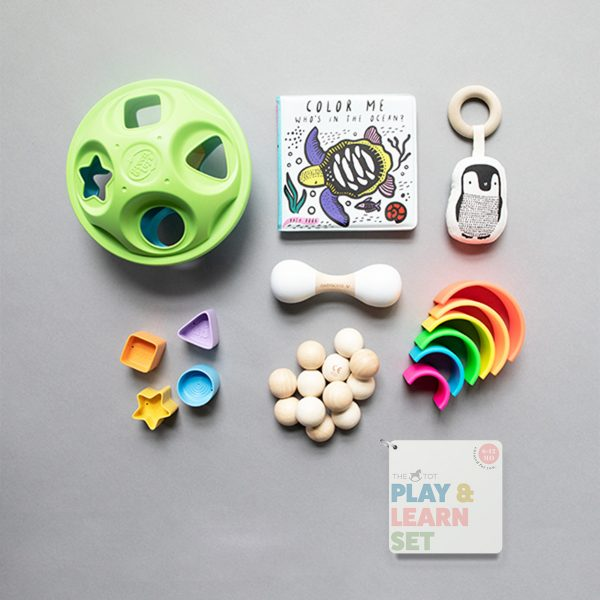 Manhattan Toy Company Natural Baby Beads