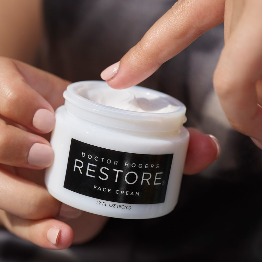 Doctor Rogers Restore Face Cream Lifestyle Image