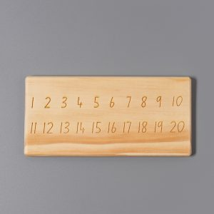Zephyrs Nest Numbers Tracing Board