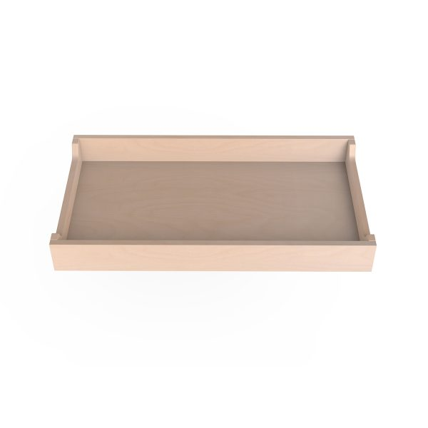 Spot on Square Changing Tray – 34″ Wide  – Birch