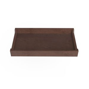 "Spot on Square Changing Tray - 34"" Wide - Walnut"