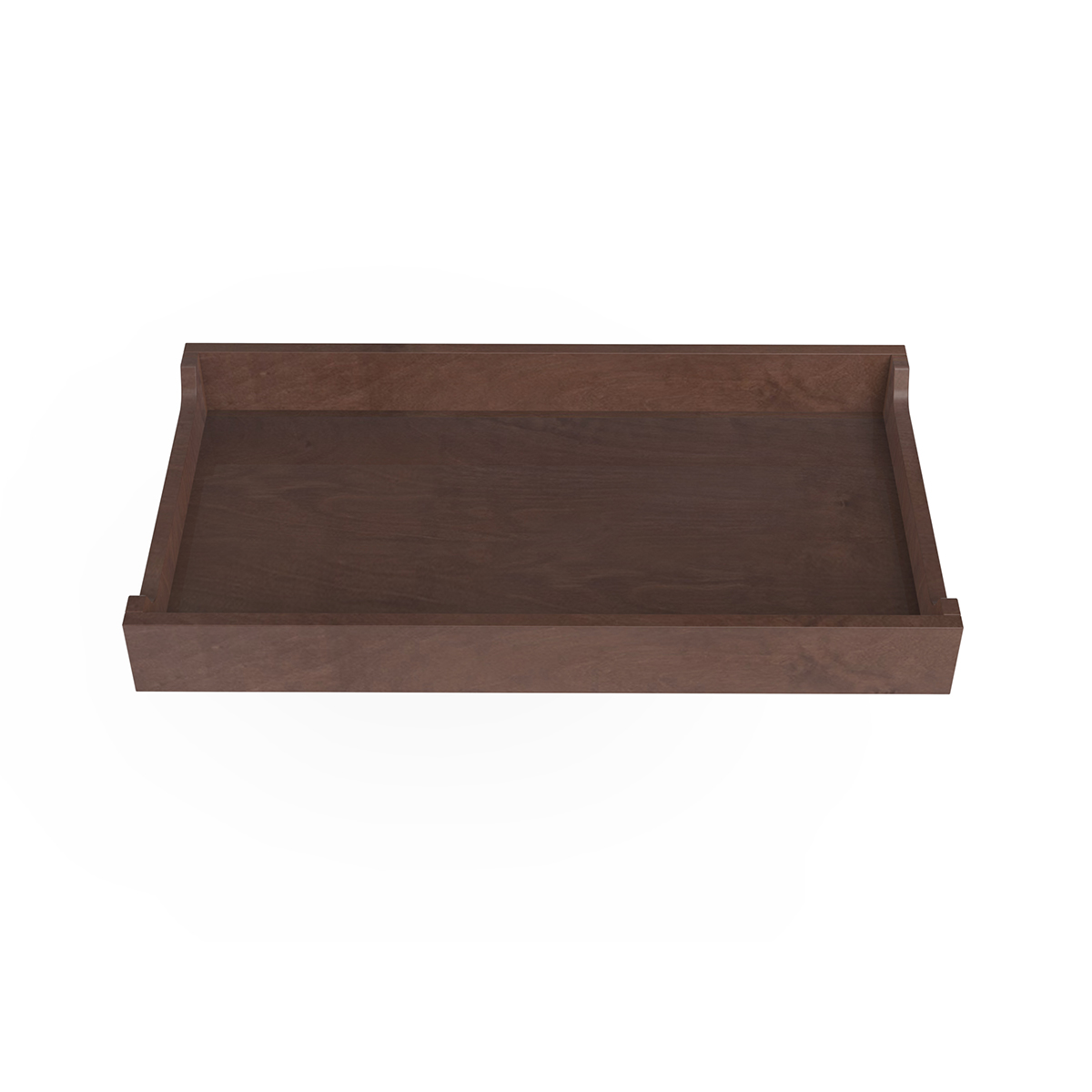 """Spot on Square Changing Tray - 34"""" Wide - Walnut"""