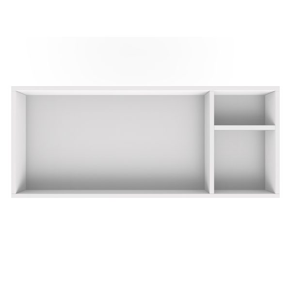 Spot on Square Changing Tray – 45″ Wide – White