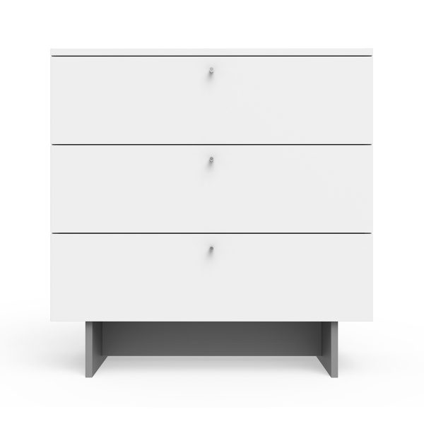 Spot on Square Roh Dresser 34″ Wide – White