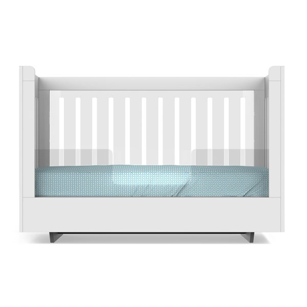 Spot On Square Roh Crib Conversion White