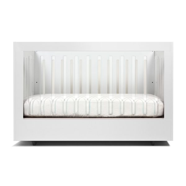 Spot On Square Roh Crib White 1 Side Acrylic