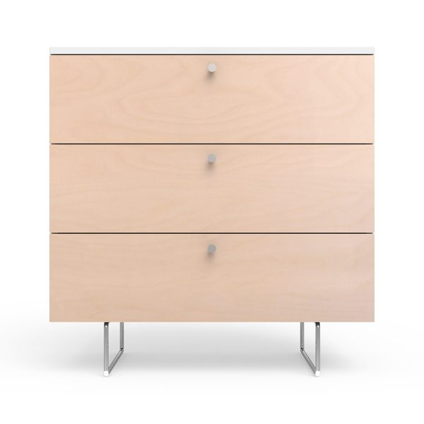 Spot on Square Alto Dresser 34″ Wide – Birch