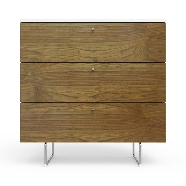 Spot on Square Alto Dresser 34″ Wide – Walnut