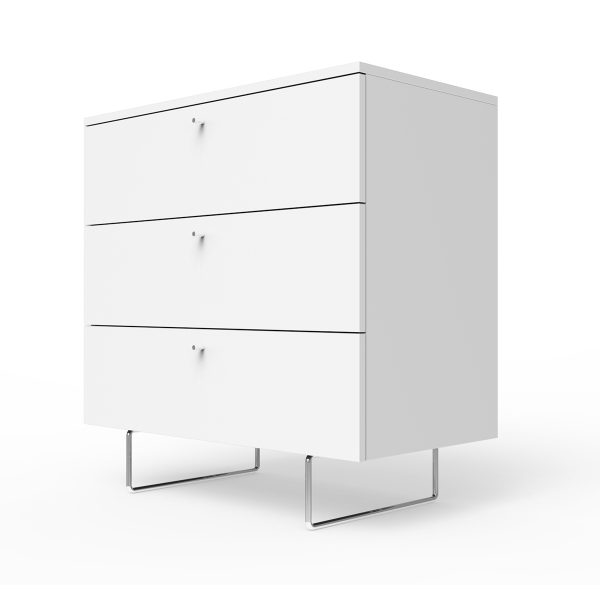 Spot on Square Alto Dresser 34″ Wide – White