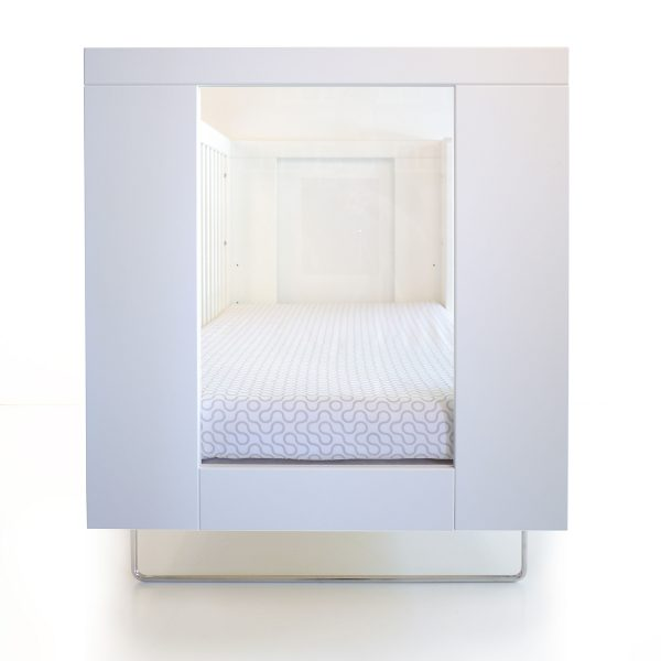 Spot on Square Alto Crib Clear Acrylic