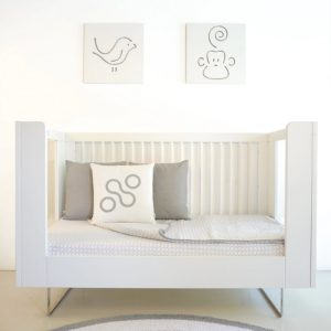 Spot On Square Alto Crib Conversion