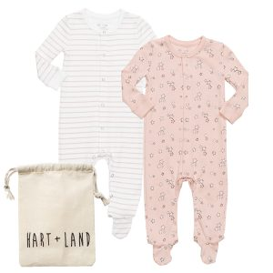 HART + LAND Footed bodysuits