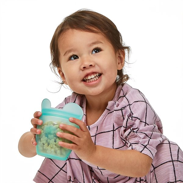 Zip Top Baby Snack Container Set Lifestyle Image