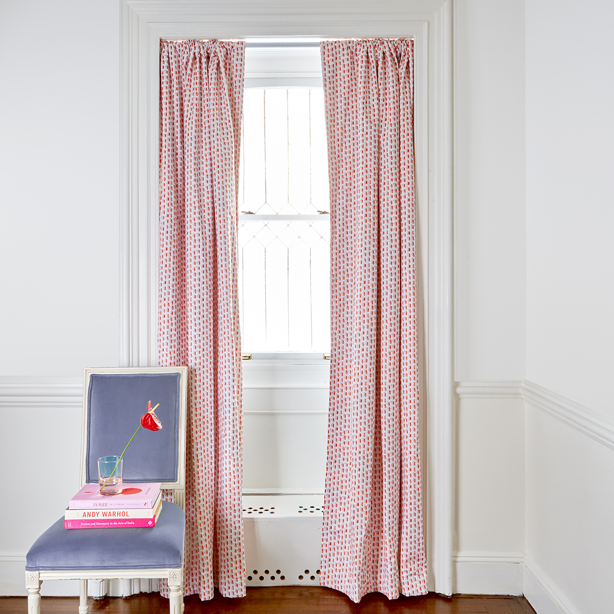Pepper Home Poppy Pink Curtains