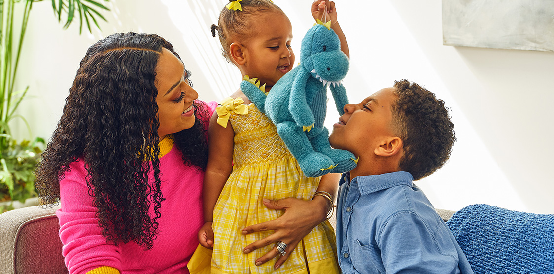 Tia Mowry and kids