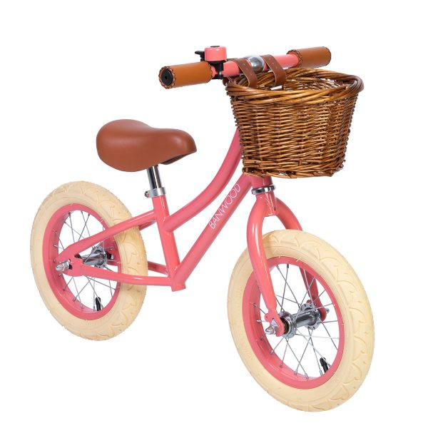Banwood Bikes First Go Balance Bike Coral