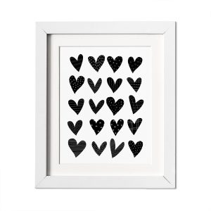 L'amour Fou Print Shop Heart Nursery Print