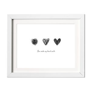 L'amour Fou Print Shop You Make My Heart Smile Print