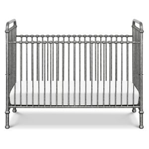 Million Dollar Baby Abigail 3-in-1 Convertible Vintage Silver Crib