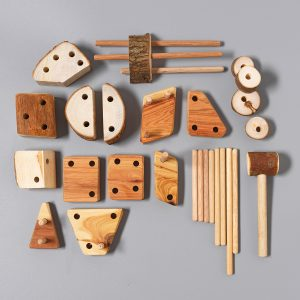 Let Them Play Sticks and Blocks Set