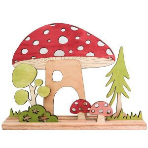 Let Them Play Story Scene - Mushroom Set
