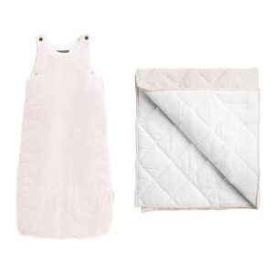 Louelle Sleep Bag and Play Mat Blossom Pink