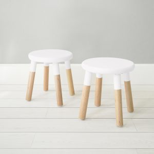Nico & Yeye Peewee Chair Maple White