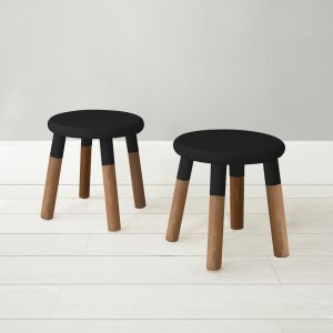 Nico & Yeye Peewee Chair Walnut Black