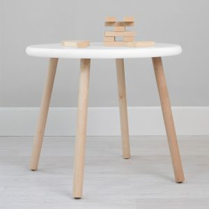 Nico & Yeye Peewee Table - Maple White