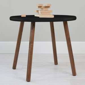 Nico & Yeye Peewee Table - Walnut Black