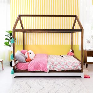 Nico & Yeye Twin Bed Without Rails