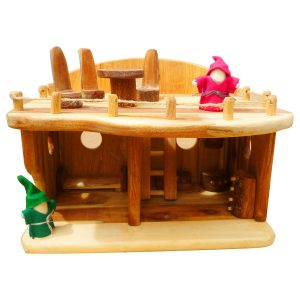 Q Toys Medium Dollhouse