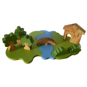 Q Toys Steiner Inspired Landscape Play Set