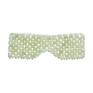 Earth Harbor ISLAND JADE Gemstone Eye Mask
