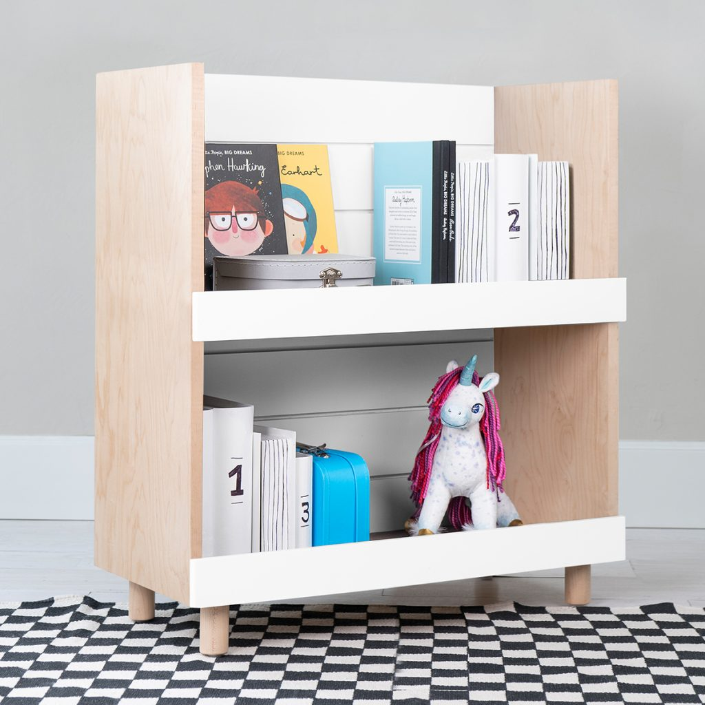Nico & Yeye Minimo Bookcase Maple White