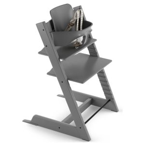Tripp Trapp High Chair in Grey
