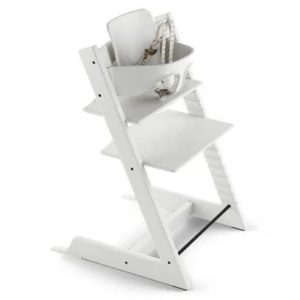 Tripp Trapp High Chair in White