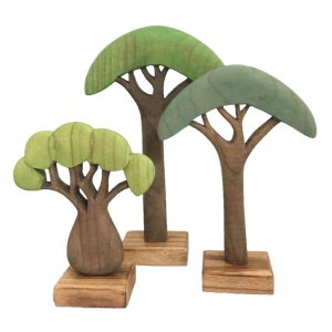 Papoose Wooden African Trees