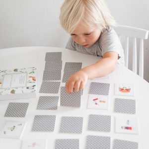 Mindful & Co Kids Yoga Memory Card Game
