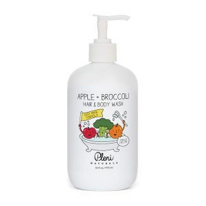 Pleni Naturals Apple + Broccoli Hair & Body Wash