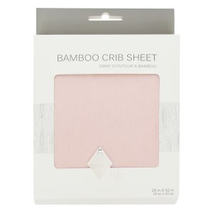 Kyte Baby Crib Sheet Blush
