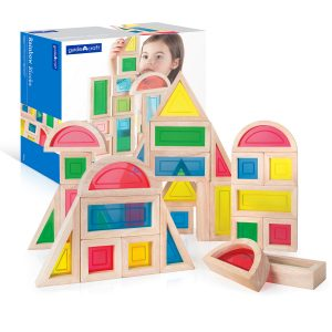 Guidecraft Rainbow Blocks