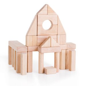 Wooden block set from Guidecraft