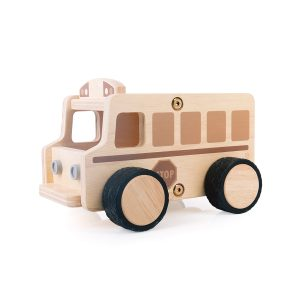 Guidecraft Wooden School Bus