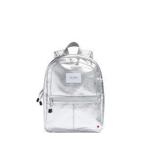 State Bag Mini Kane Backpack Silver