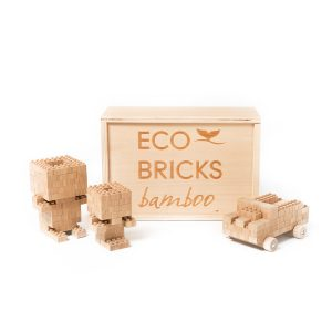 Once Kids Eco Bricks Bamboo - 145 Piece